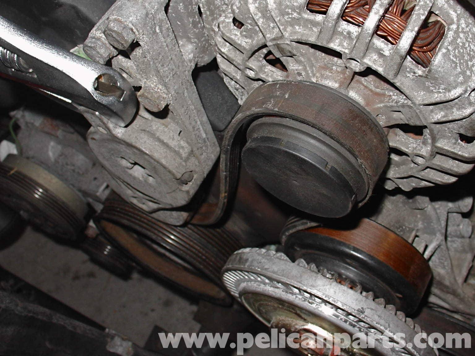 Audi A4 1.8T Volkswagen Serpentine Belt Replacement   Golf, Jetta, Passat & Beetle   Pelican ...
