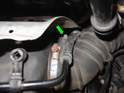 If you still can't reach that last clip, you can remove move the turbo intake tube from the airbox.