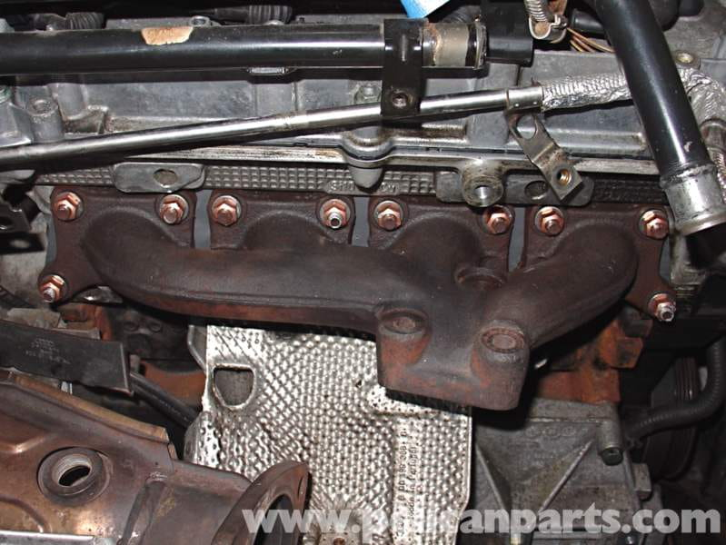 Audi a4 18t volkswagen exhaust manifold replacement golf jetta the lower outer nuts will be last in sequence publicscrutiny Gallery