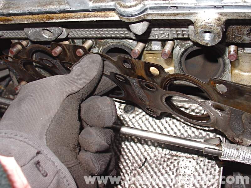 audi a4 1 8t volkswagen exhaust manifold replacement golf jetta rh pelicanparts com 2001 Audi A8 Exhaust System 2001 Audi A4 Timing Belt