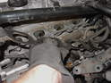 Remove the old intake manifold gasket.