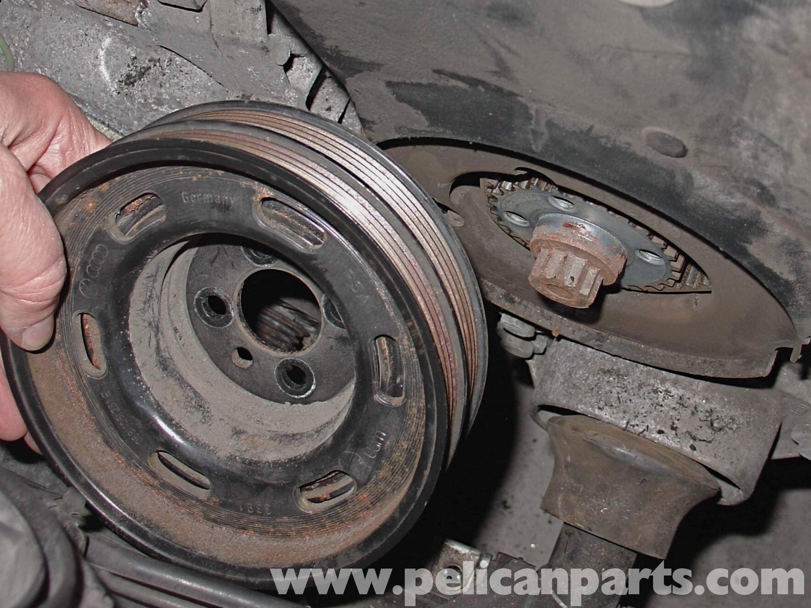 Audi A4 1.8T Volkswagen Timing Belt Replacement | Golf, Jetta, Passat & Beetle | Pelican Parts ...