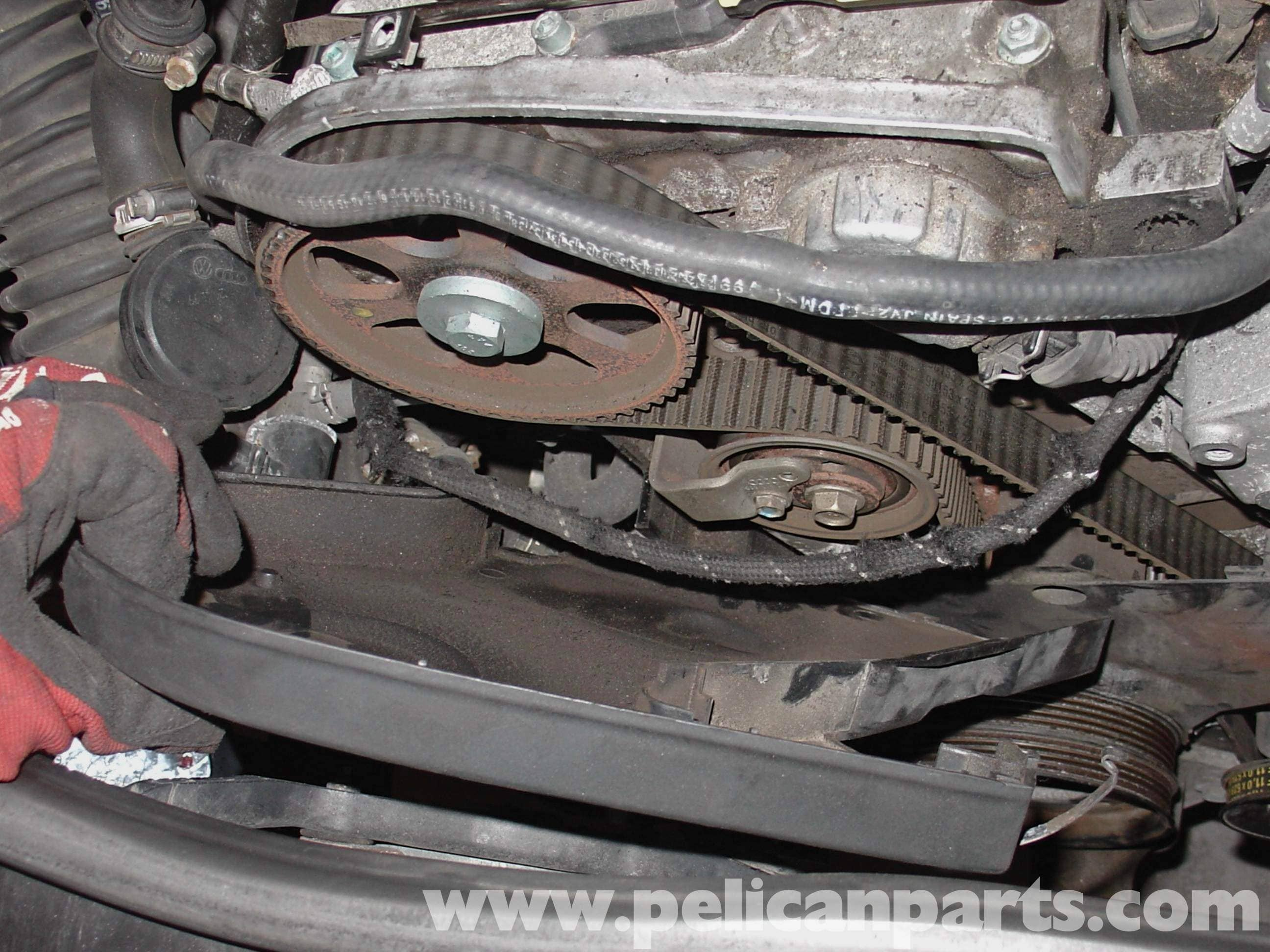 Audi Timing Belt : Audi a t volkswagen timing belt replacement golf