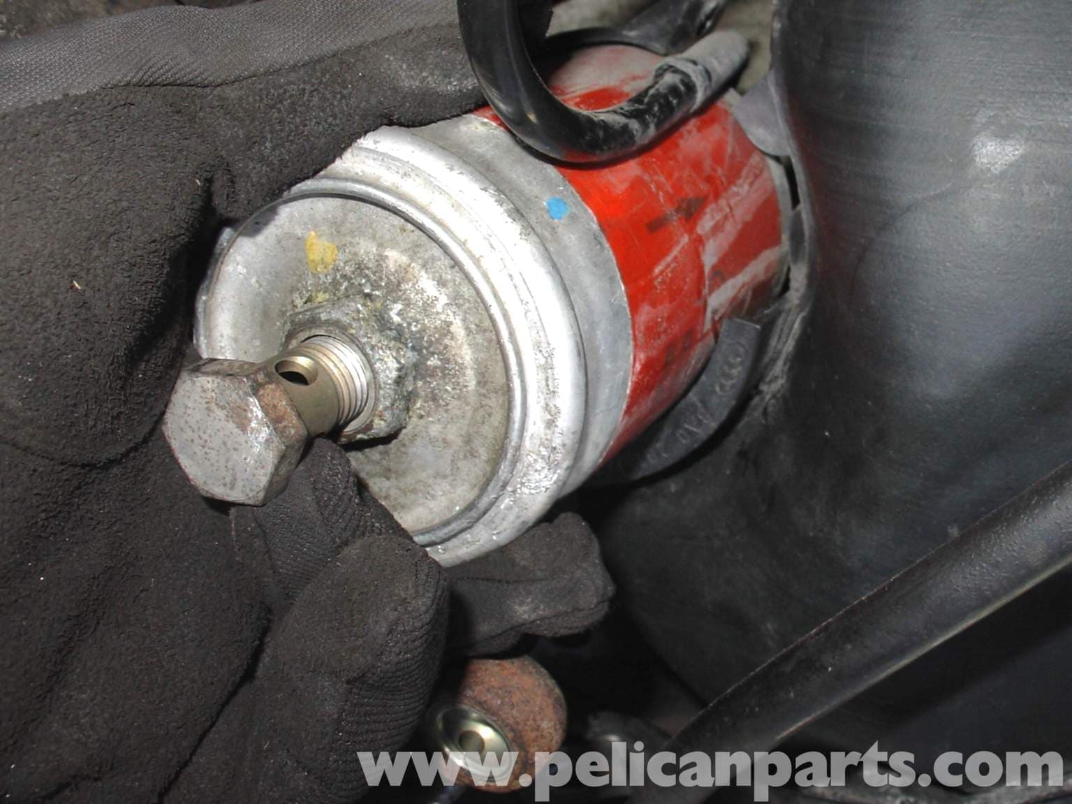 Audi A4 1 8t Volkswagen Fuel Filter Replacement