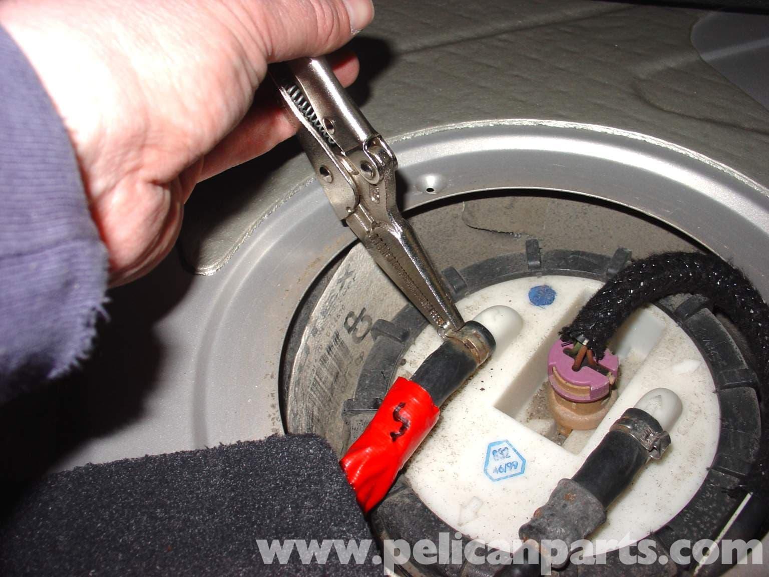 Volkswagen Fuel Pump Diagram : Audi a t volkswagen fuel pump replacement golf
