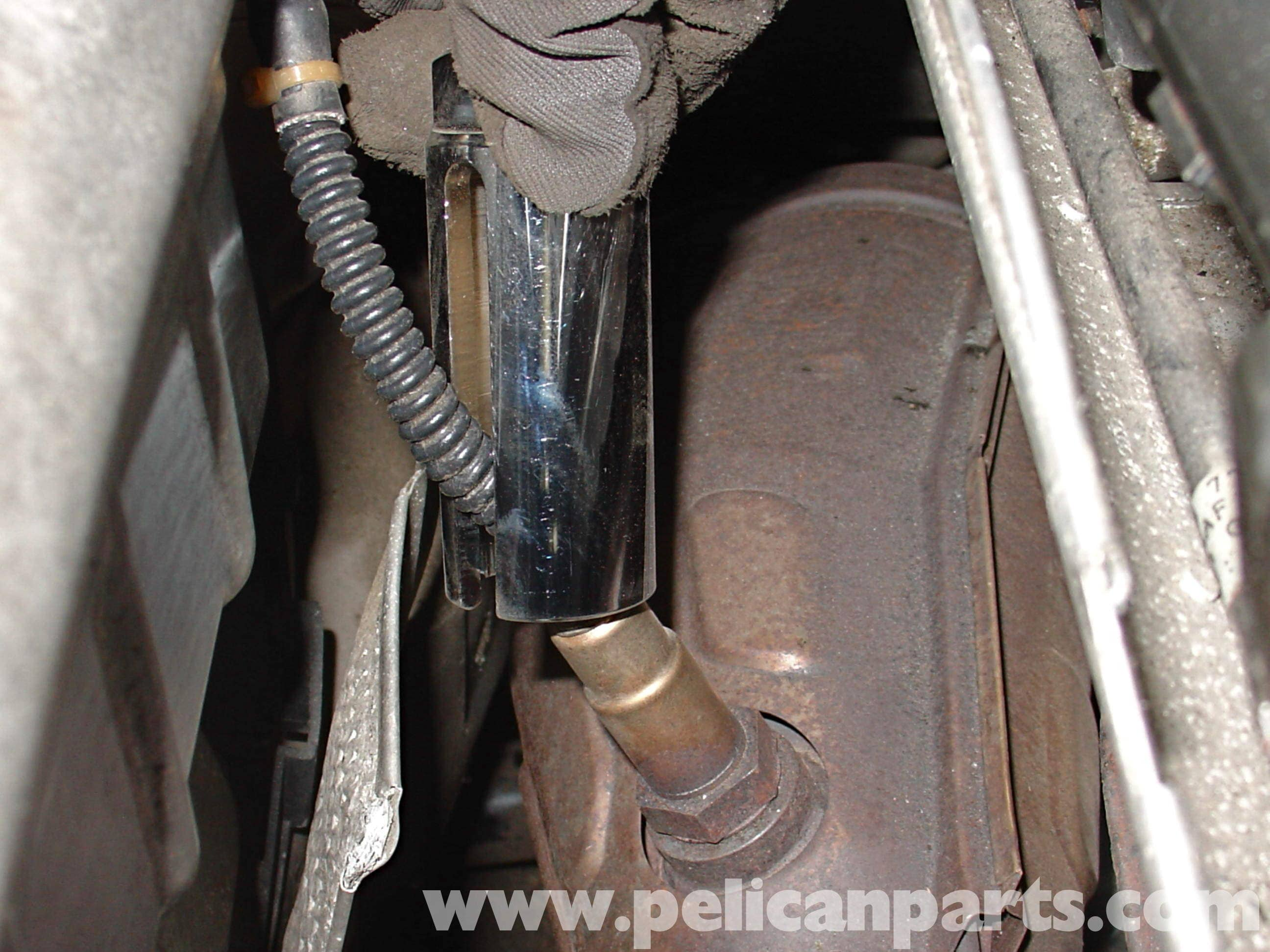 Audi A4 1 8t Volkswagen Oxygen Sensor Replacement Golf Jetta Passat Beetle Pelican Parts Diy Maintenance Article