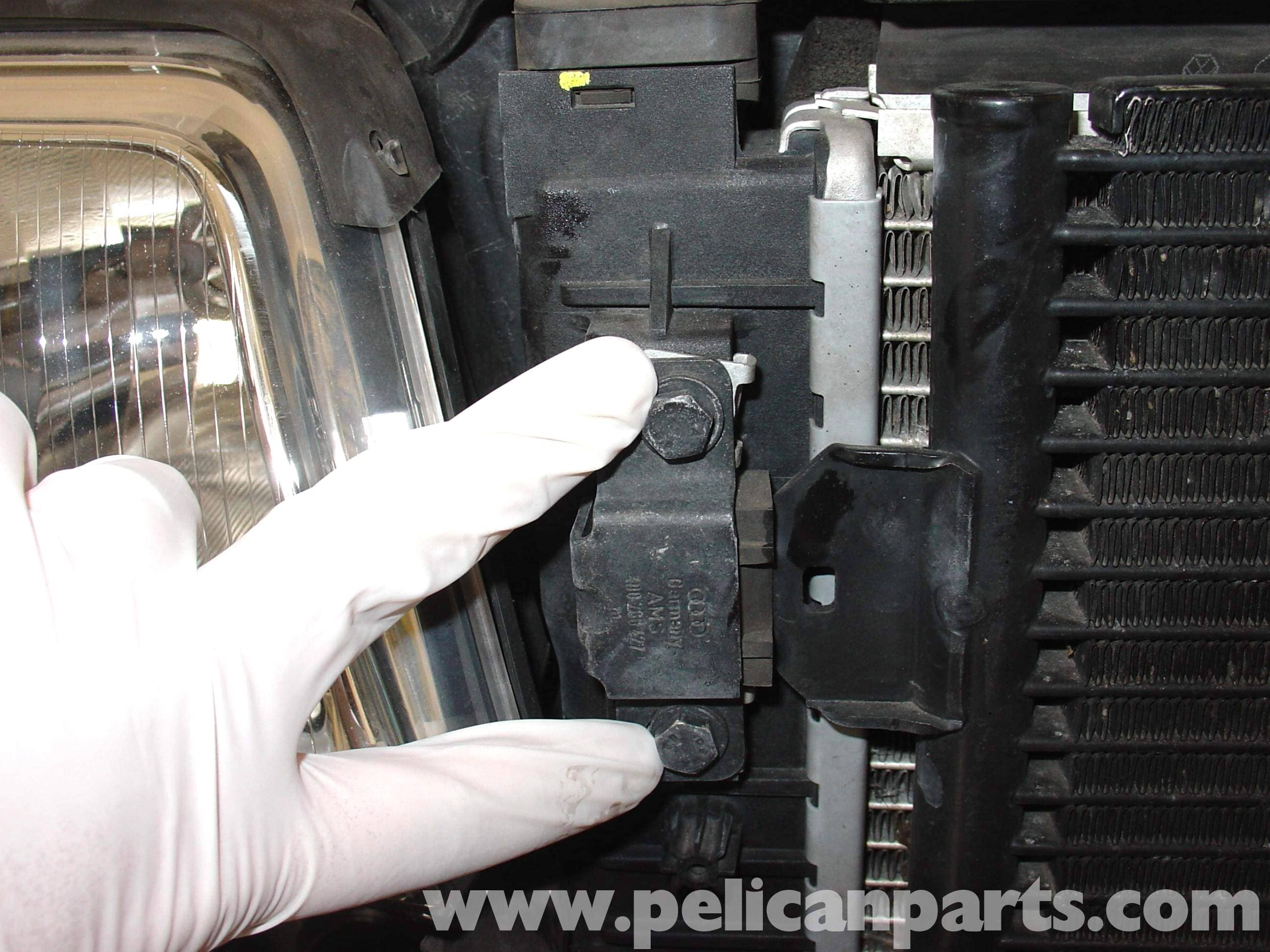 Audi A4 1 8t Volkswagen Radiator And Hose Replacement