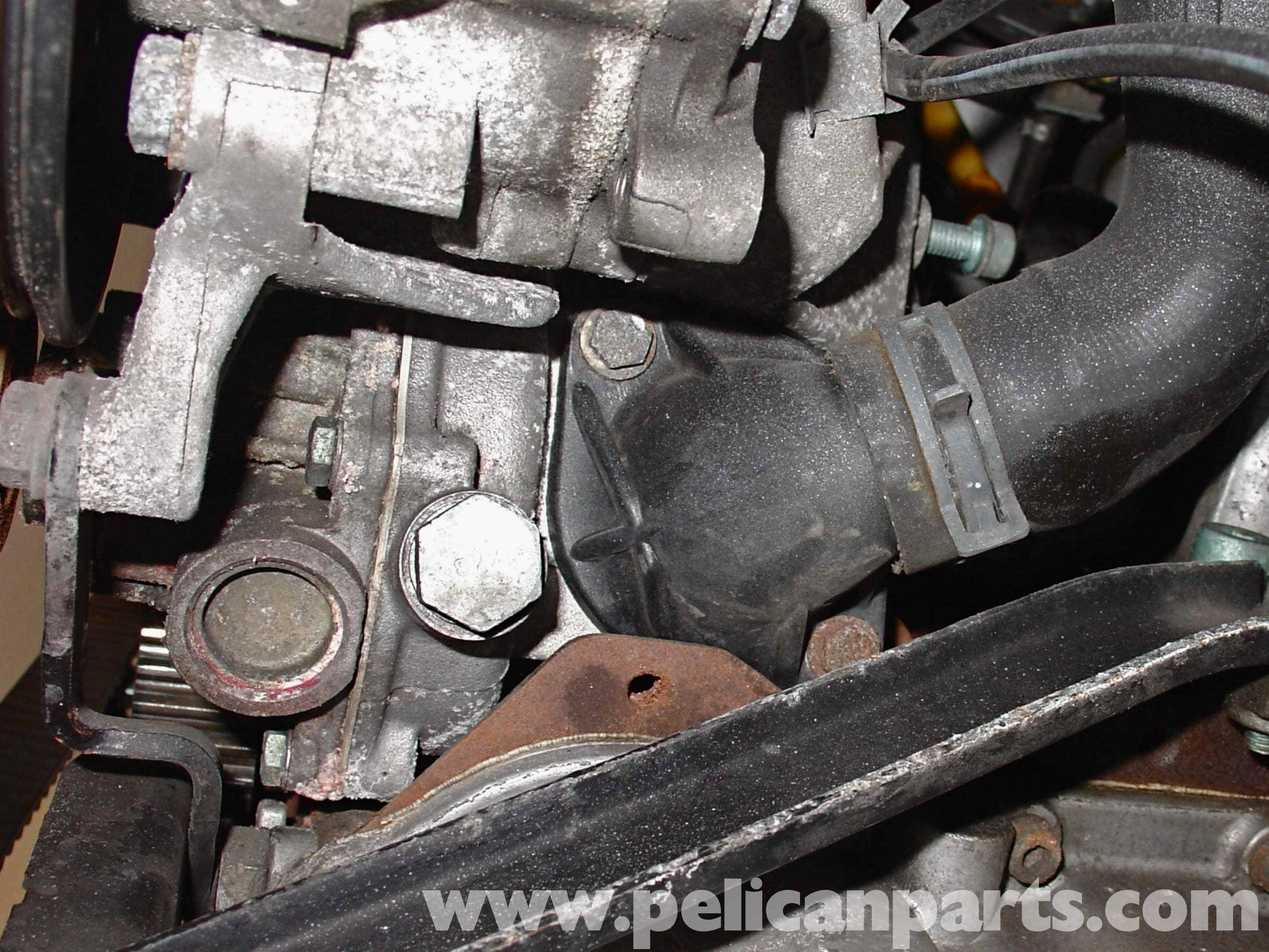 audi   volkswagen water pump replacement golf jetta passat beetle pelican parts