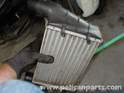 The intercooler is now free and can be removed.