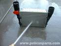 Spray the faces of the intercooler with water to clean them out and remove any debris that has built up.