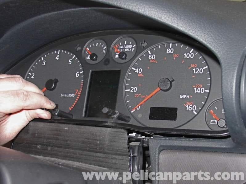 Audi A4 1 8T Volkswagen Center Display Repair | Golf, Jetta, Passat