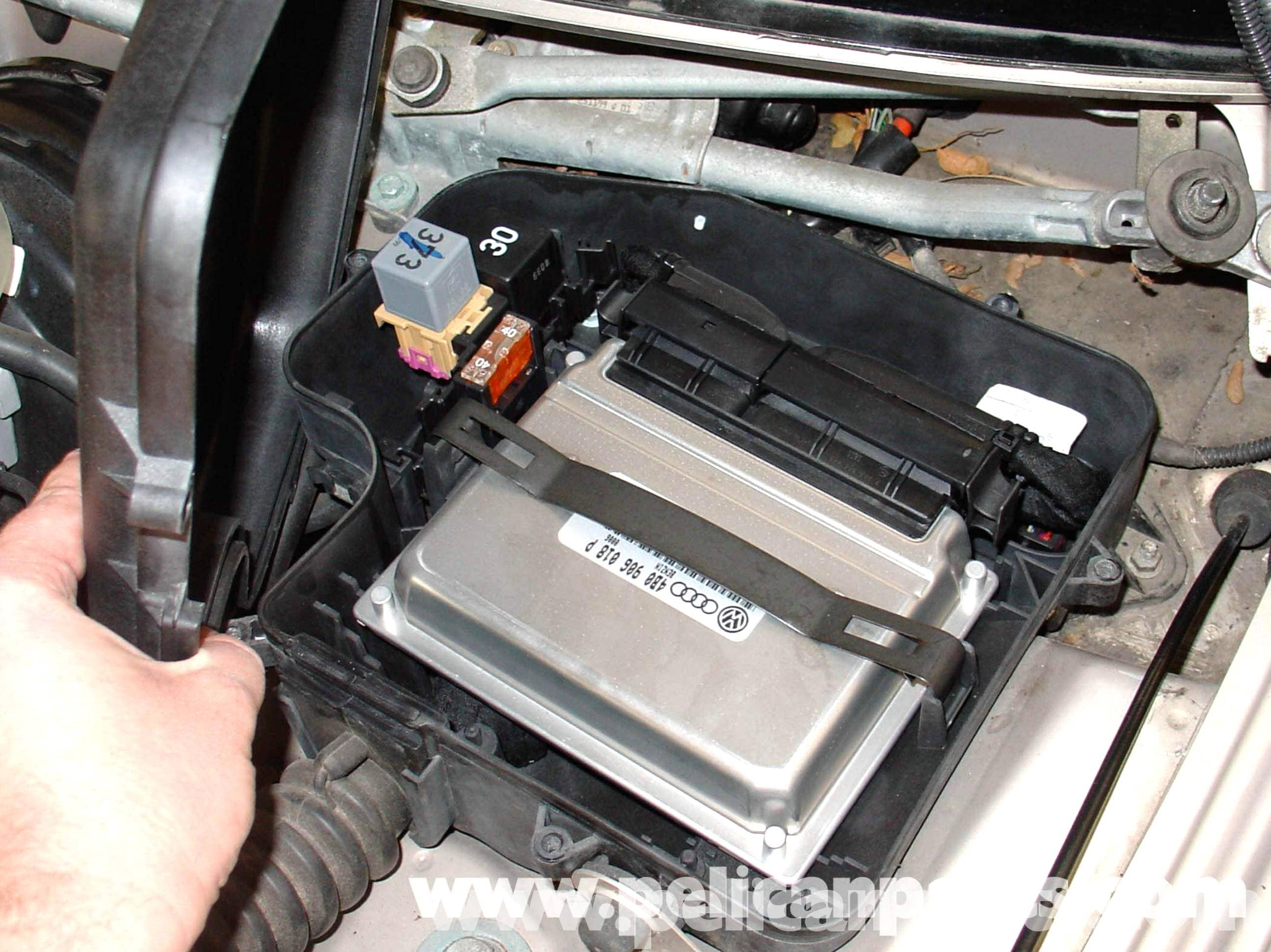 Audi A4 1 8t Volkswagen Ecu Replacement