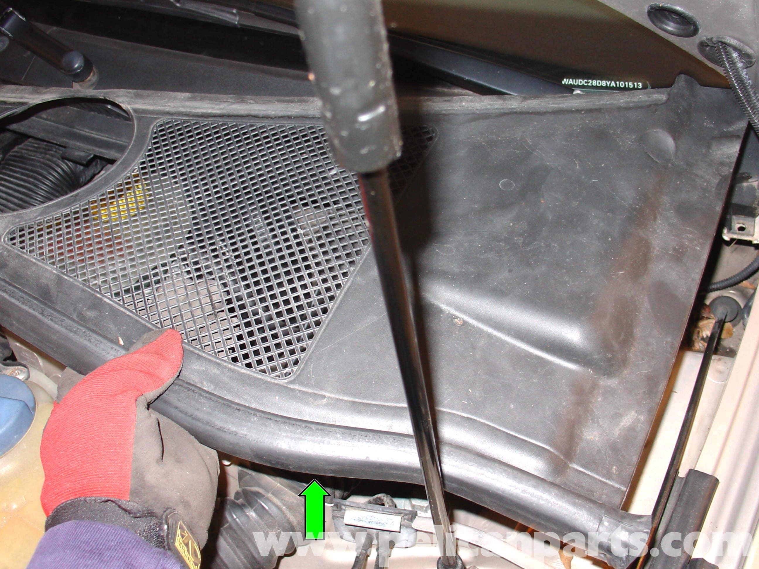 audi   volkswagen cabin air filter replacement golf jetta passat beetle pelican