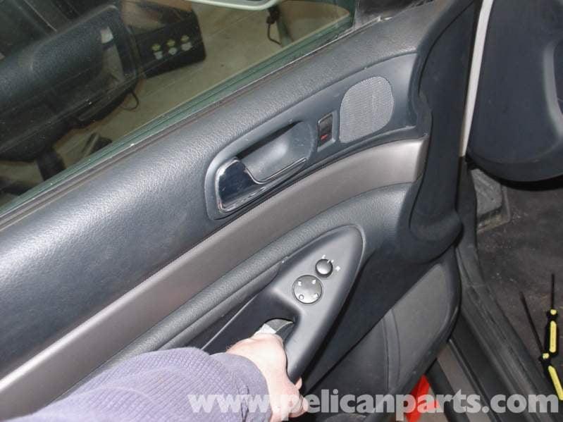 Audi A4 1 8t Volkswagen Floppy Door Handle Fix Golf Jetta Passat Beetle Pelican Parts Diy Maintenance Article