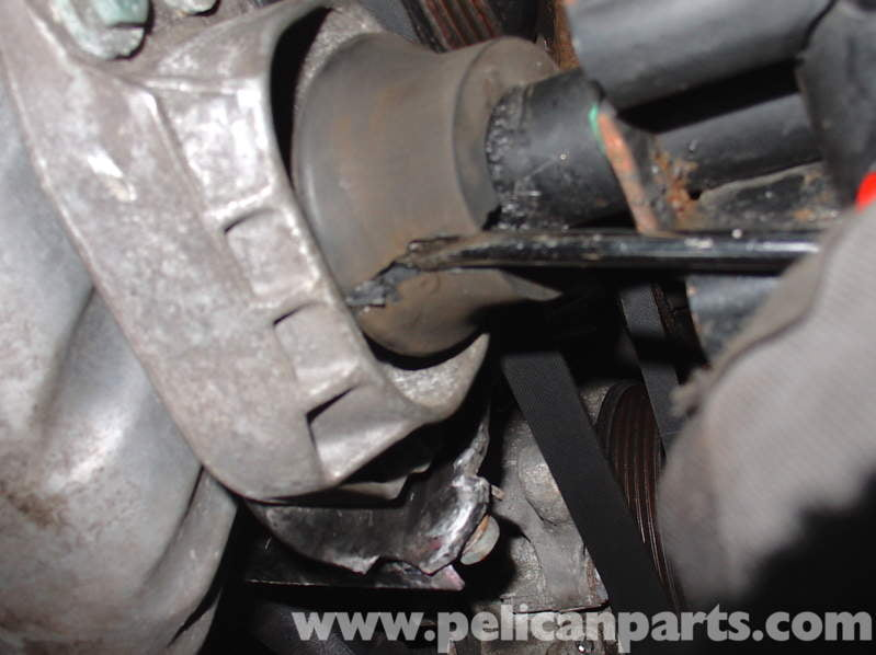 Audi A4 Quattro B5 Engine Mount Replacement 1 8t 1997 2001 Pelican Parts Diy Maintenance Article