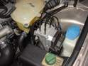 This is the ABS pump under the hood of the car.