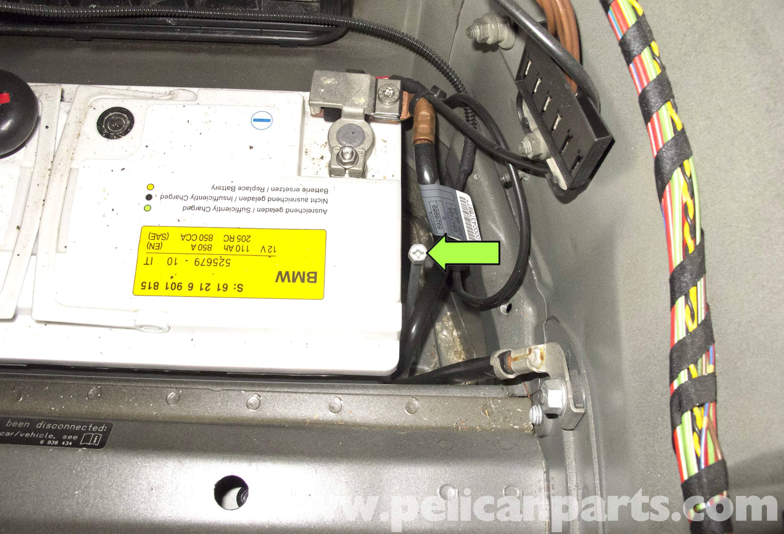 Bmw E60 5 Series Battery And Connection Notes Replacement 2003 2010 Pelican Parts Technical Article