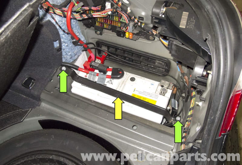 bmw e60 5 series battery and connection notes replacement 2003 2010 pelican parts. Black Bedroom Furniture Sets. Home Design Ideas