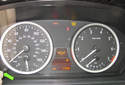Checking service information via your instrument panel display: Turn your ignition ON but do not start the engine.