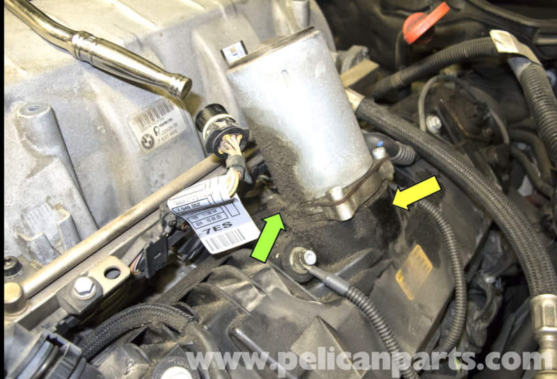 Bmw E60 5 Series N62 8 Cylinder Valvetronic Motor And Seal