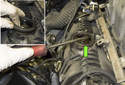 Using a flathead screwdriver, gently lever the gasket out of the valve cover.