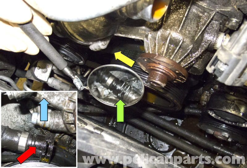 BMW E60 5-Series N62 8-Cylinder Coolant Pump Replacement - Pelican Parts Technical Article