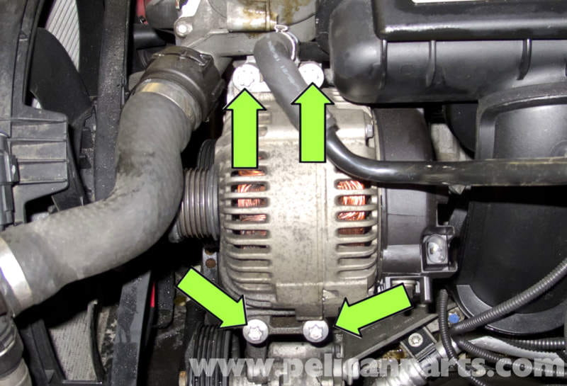 Bmw E60 5 Series Alternator Replacement Ng6 Engine