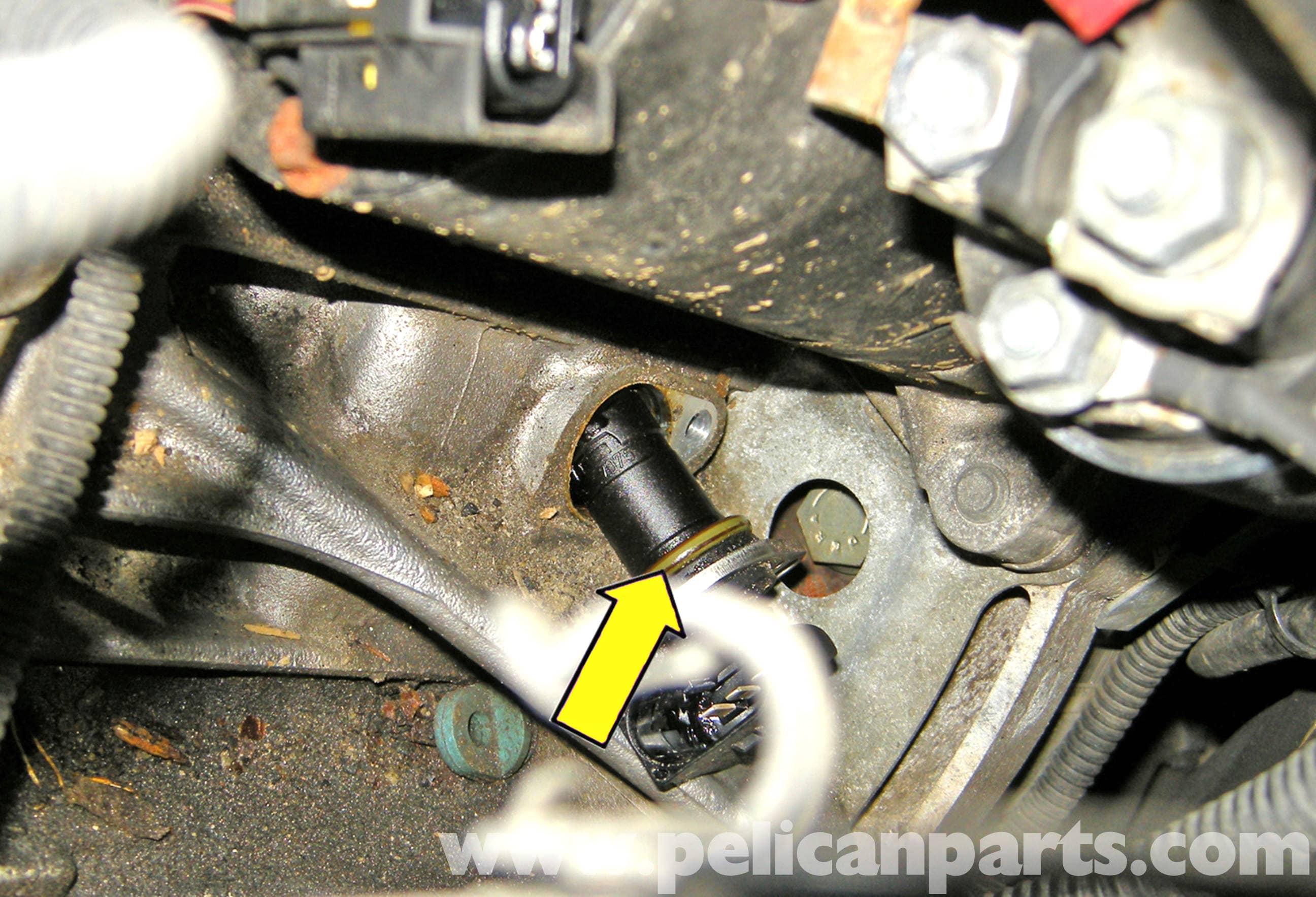 BMW E60 5-Series Crankshaft Sensor Replacement (6-cylinder