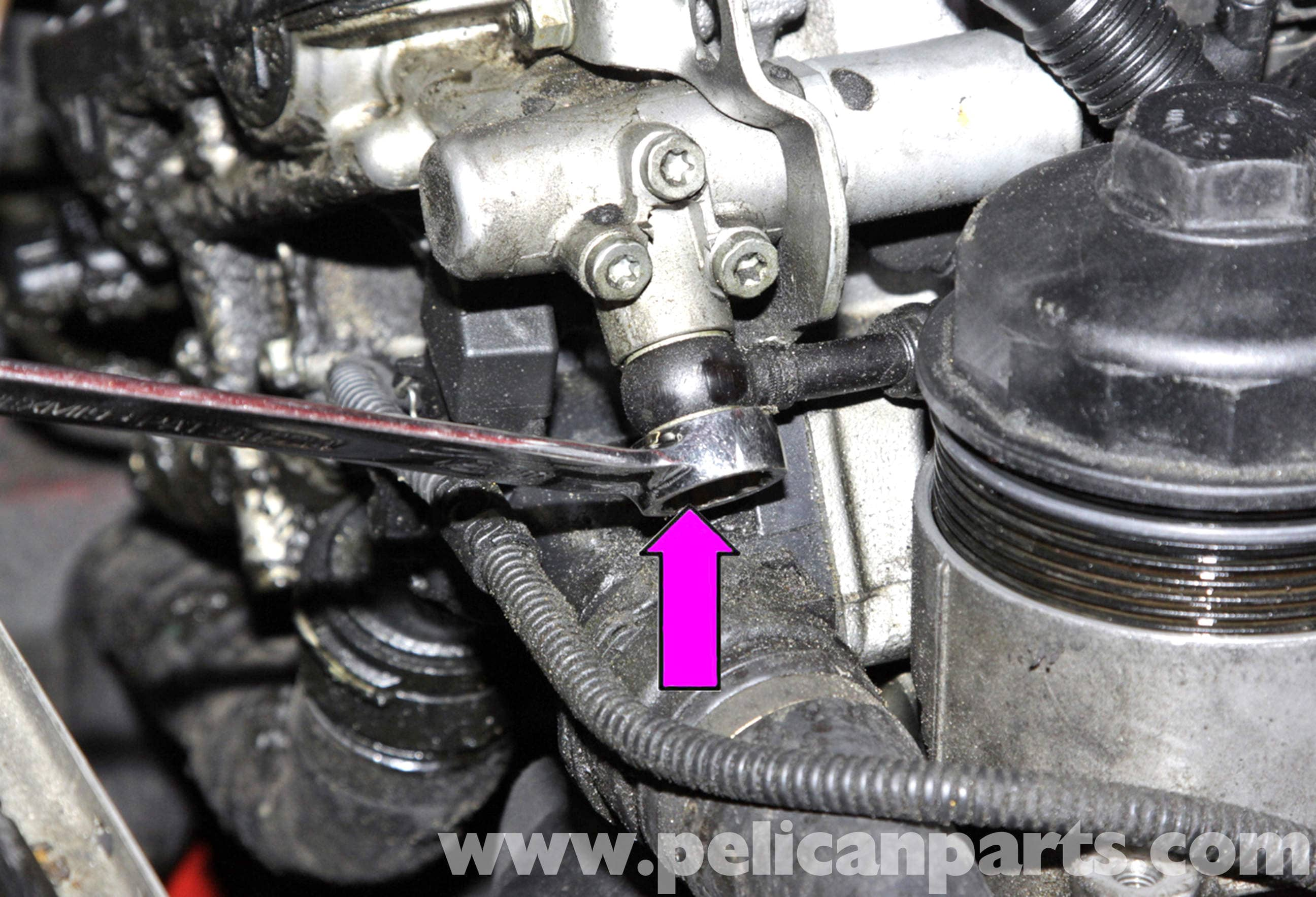 Bmw E60 5 Series 6 Cylinder Vanos Solenoid Replacing 2003
