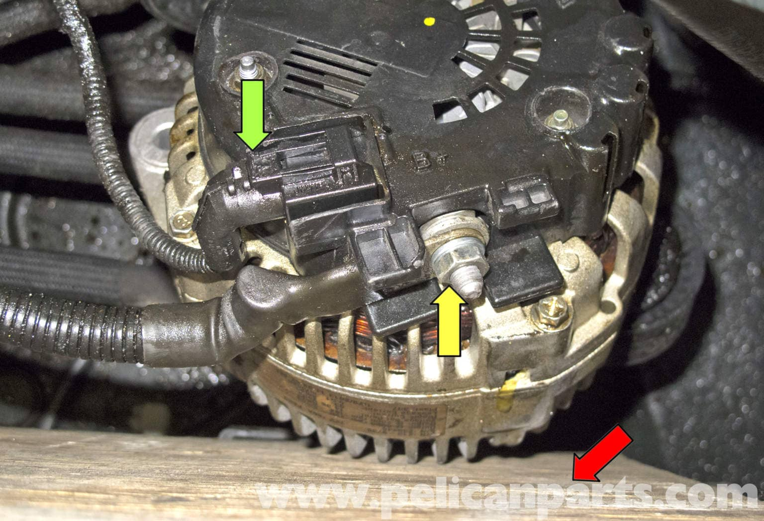 BMW E60 5-Series N62 8-Cylinder Alternator Replacement - Pelican Parts  Technical ArticlePelican Parts