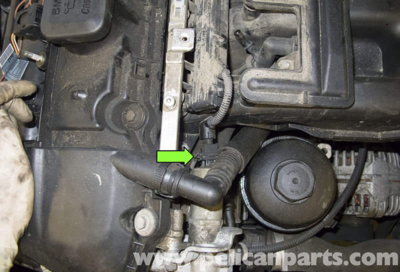 pic12 bmw e60 5 series intake manifold replacement (m54 engine bmw vanos solenoid wiring harness at gsmportal.co