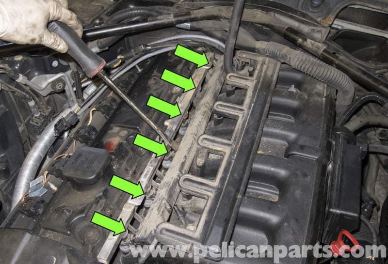 BMW E60 5-Series Intake Manifold Replacement (M54 Engine) - Pelican