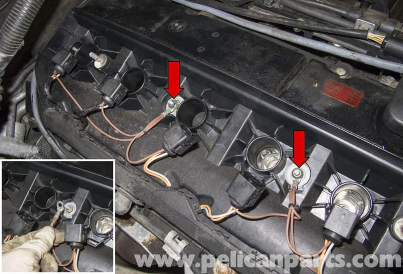 pic07 bmw e60 m54 6 cylinder engine valve cover replacement pelican  at crackthecode.co