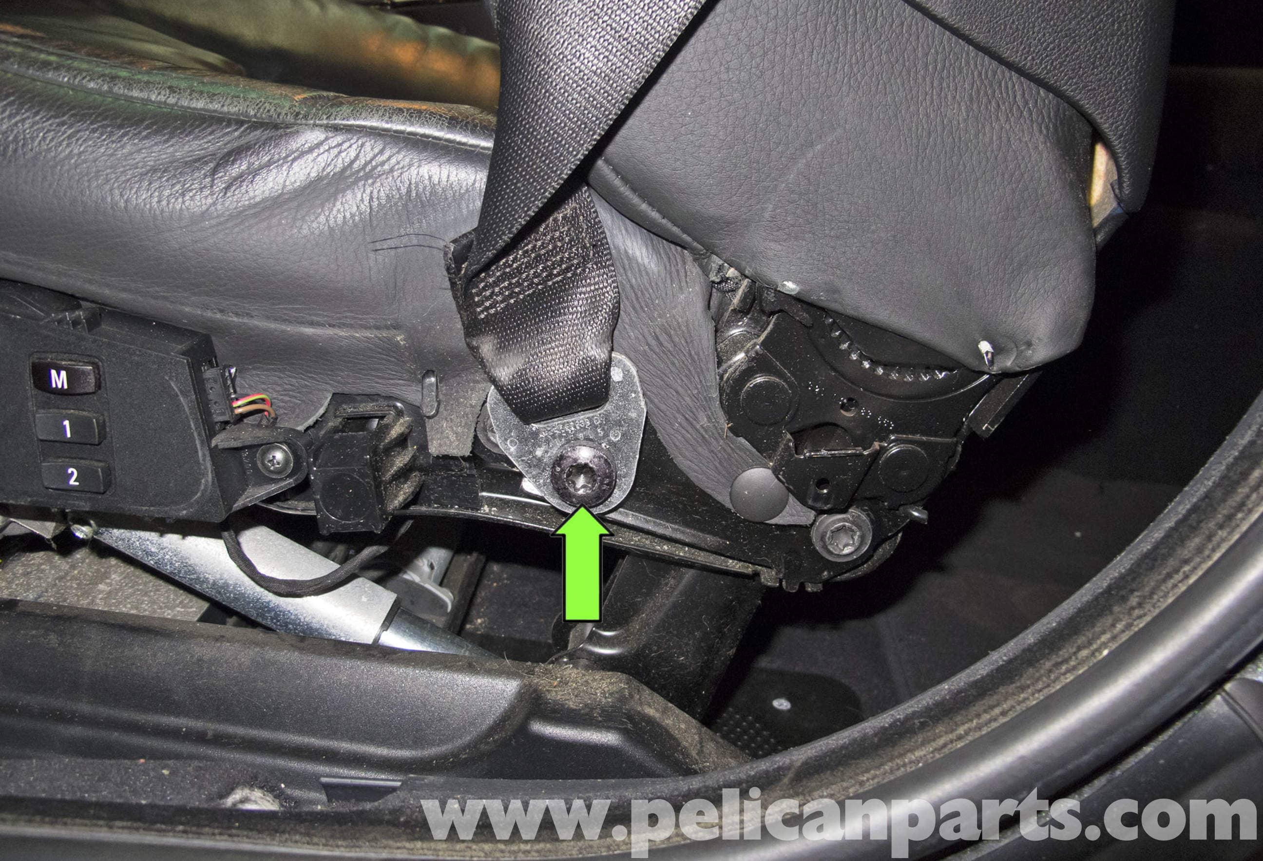 Bmw 5 Series Seats Removal E60 2004 2010 Pelican