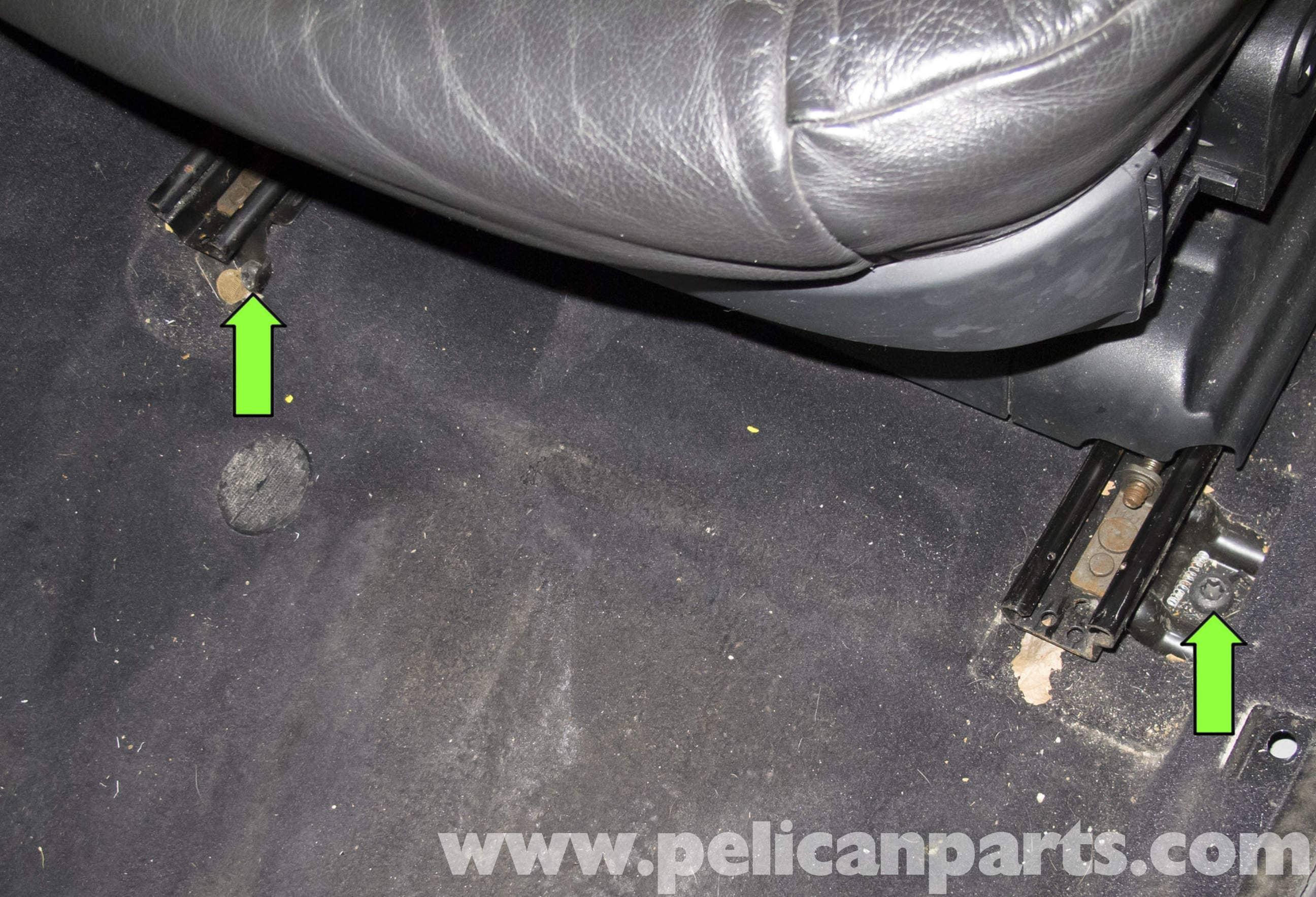 Bmw 5 Series Seats Removal E60 2004 2010 Pelican Parts Diy Maintenance Article
