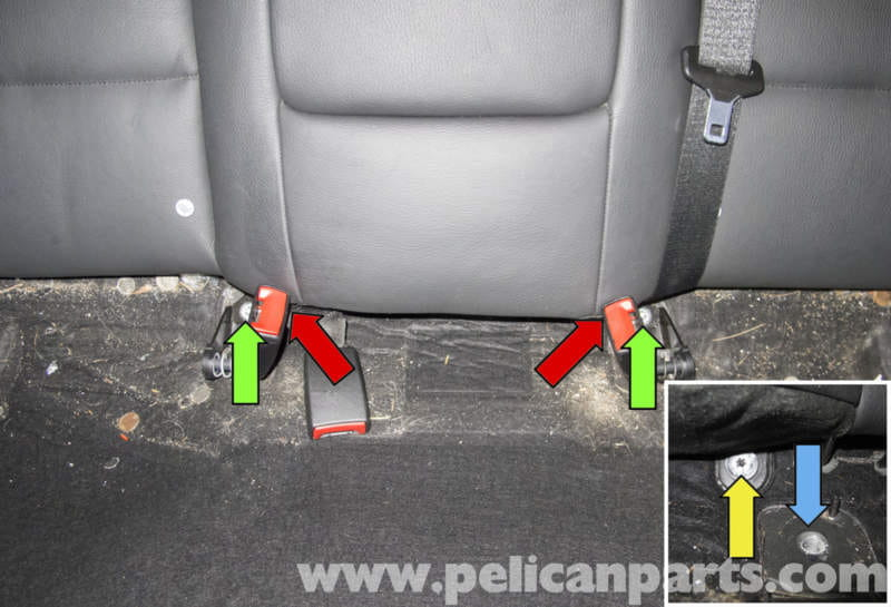 Replacement Seat Belts >> BMW 5-Series Seats Removal | E60 (2004-2010) | Pelican Parts DIY Maintenance Article
