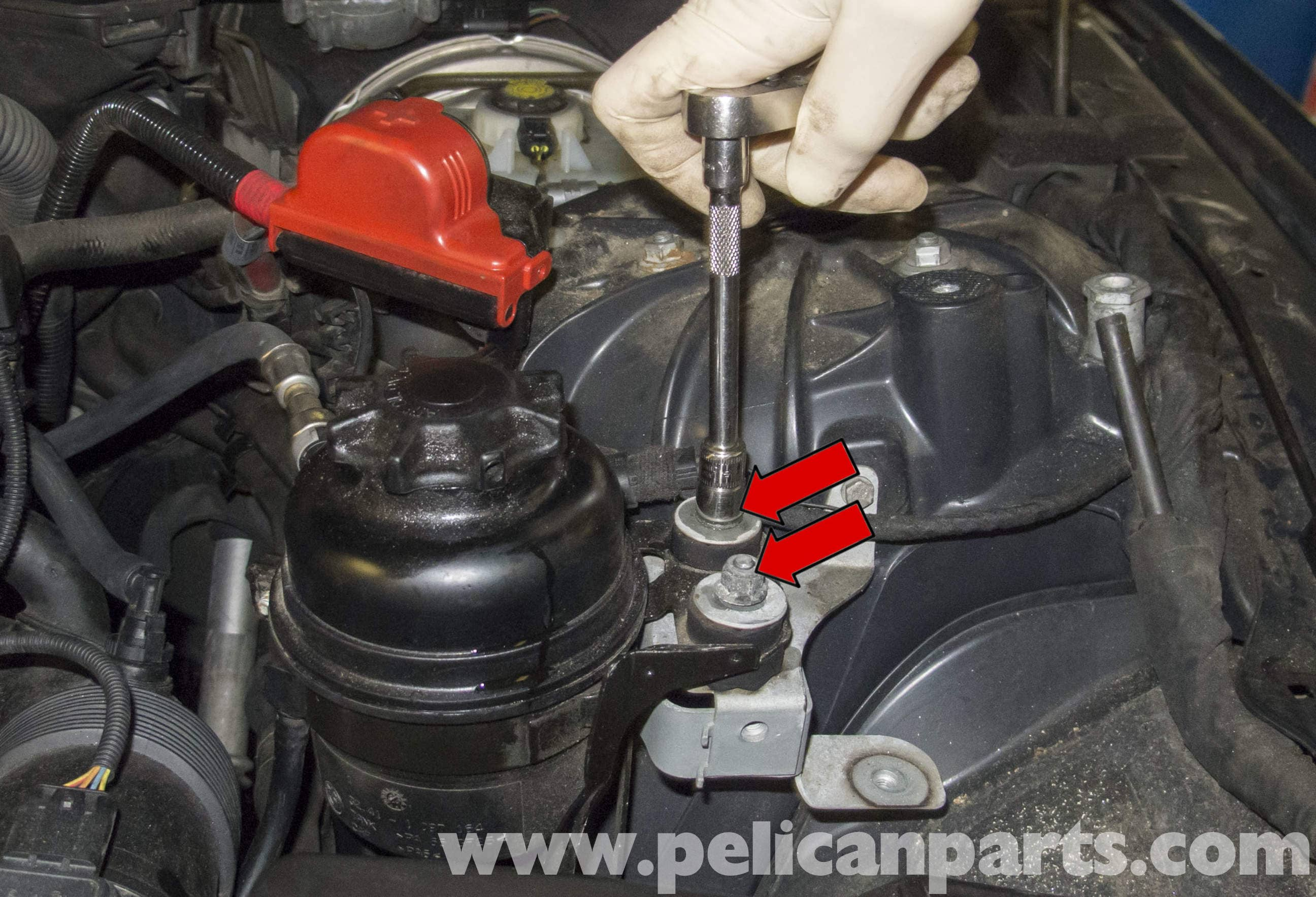 Bmw E60 5 Series Power Steering Reservoir Replacing 2003 2010