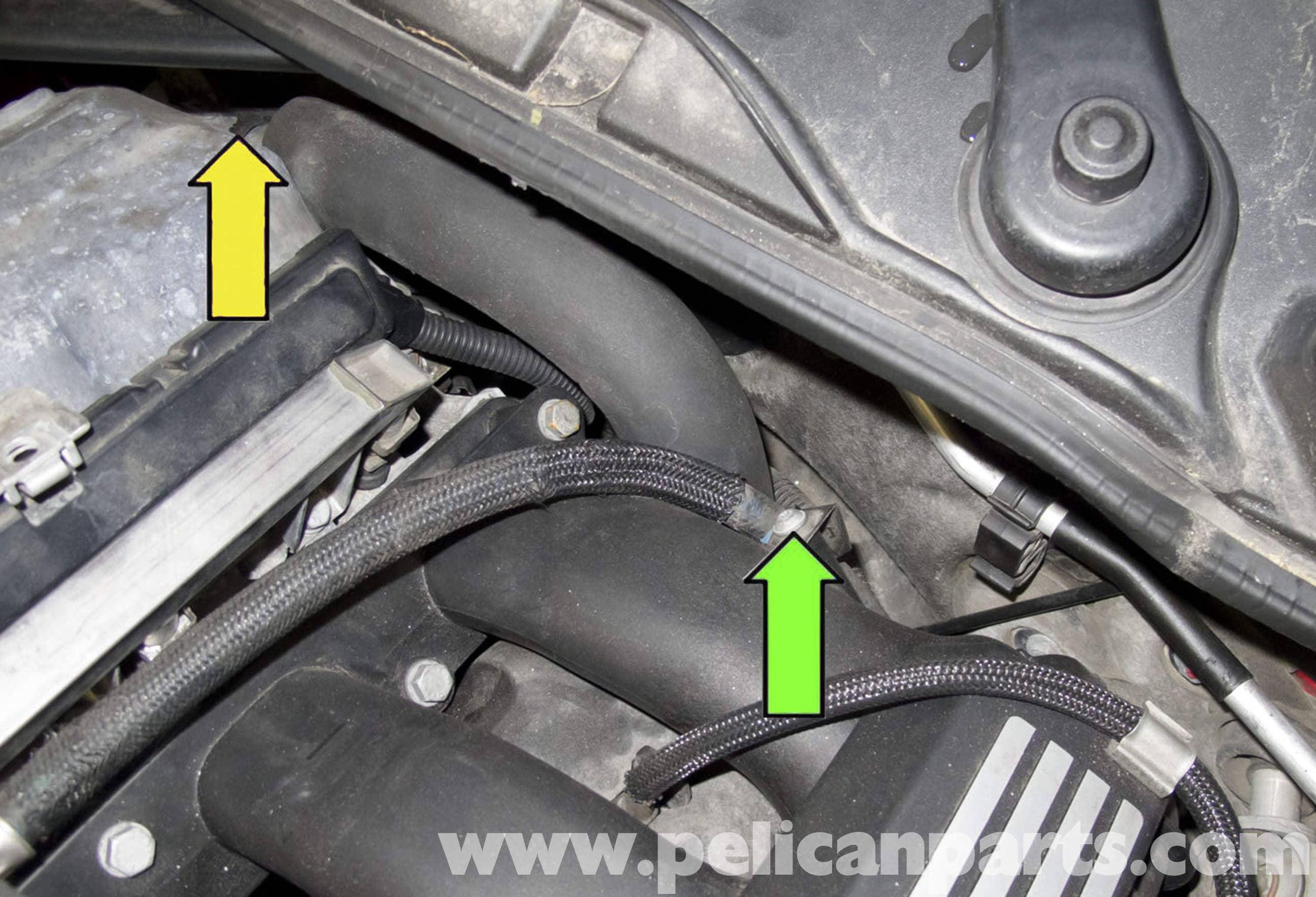 bmw e60 5series intake manifold replacement ng6 engine