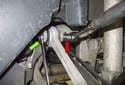 Next remove the rear fastener.