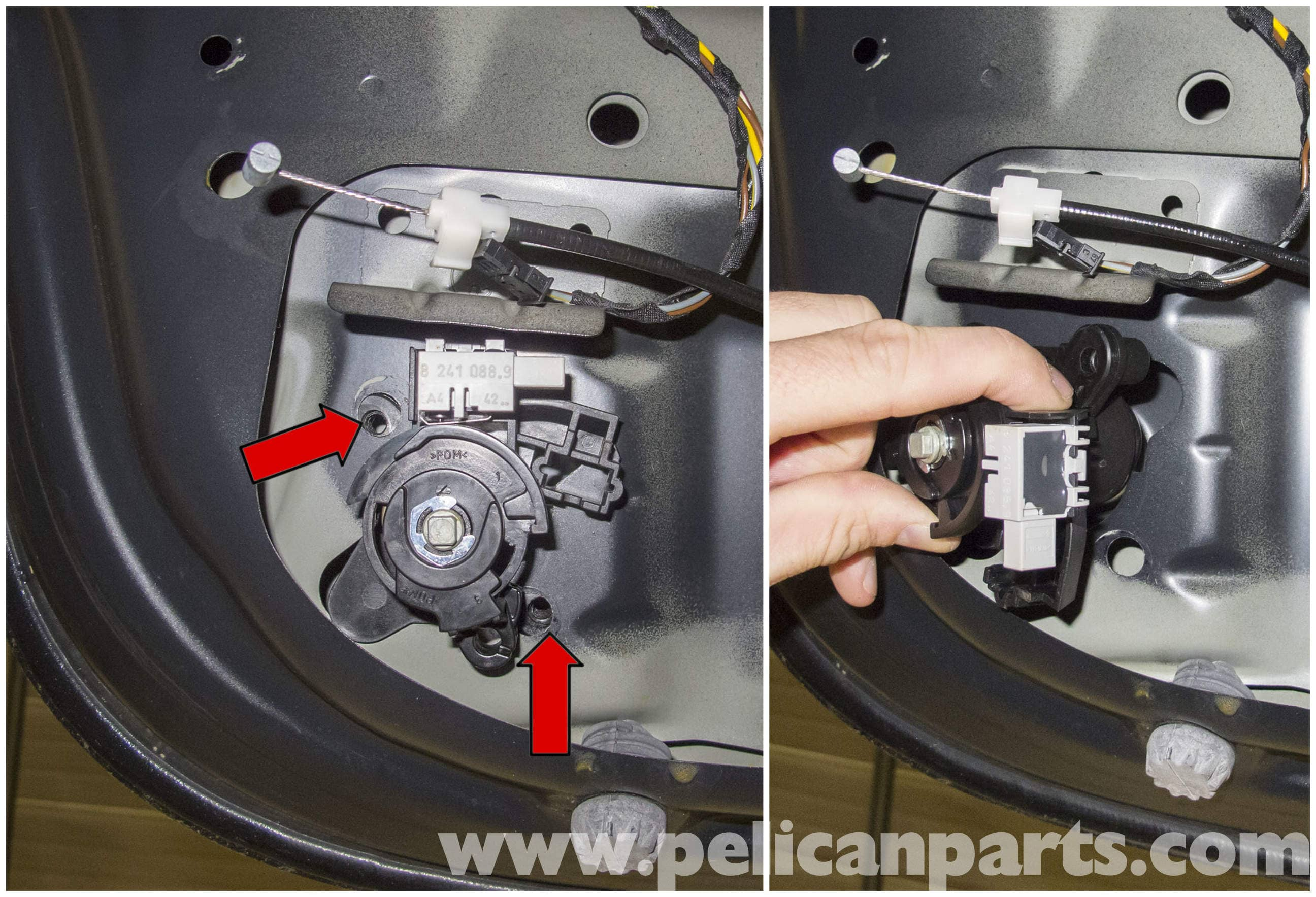 Bmw E60 5 Series Trunk Lock Cylinder And Latch Replacement