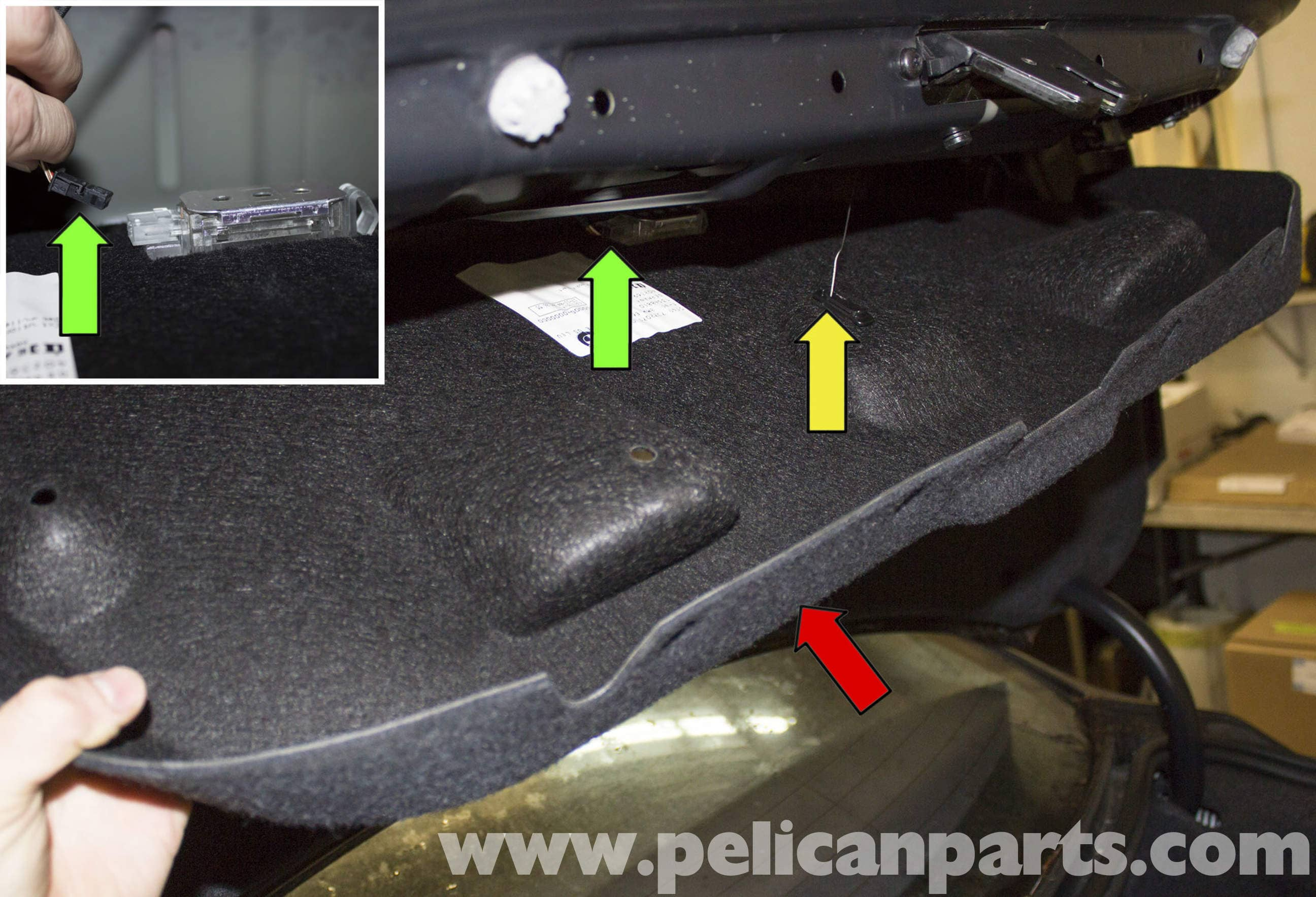 Bmw E60 5 Series Trunk Release Button Replacement 2003