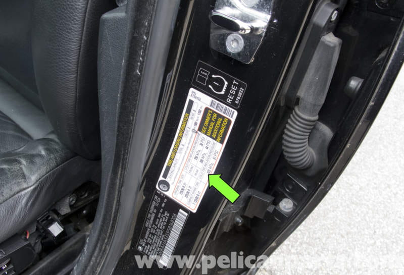 Bmw E60 5 Series Tire Pressure Monitoring System 2003