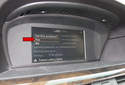 Then choose YES (red arrow) by pressing the iDrive button.