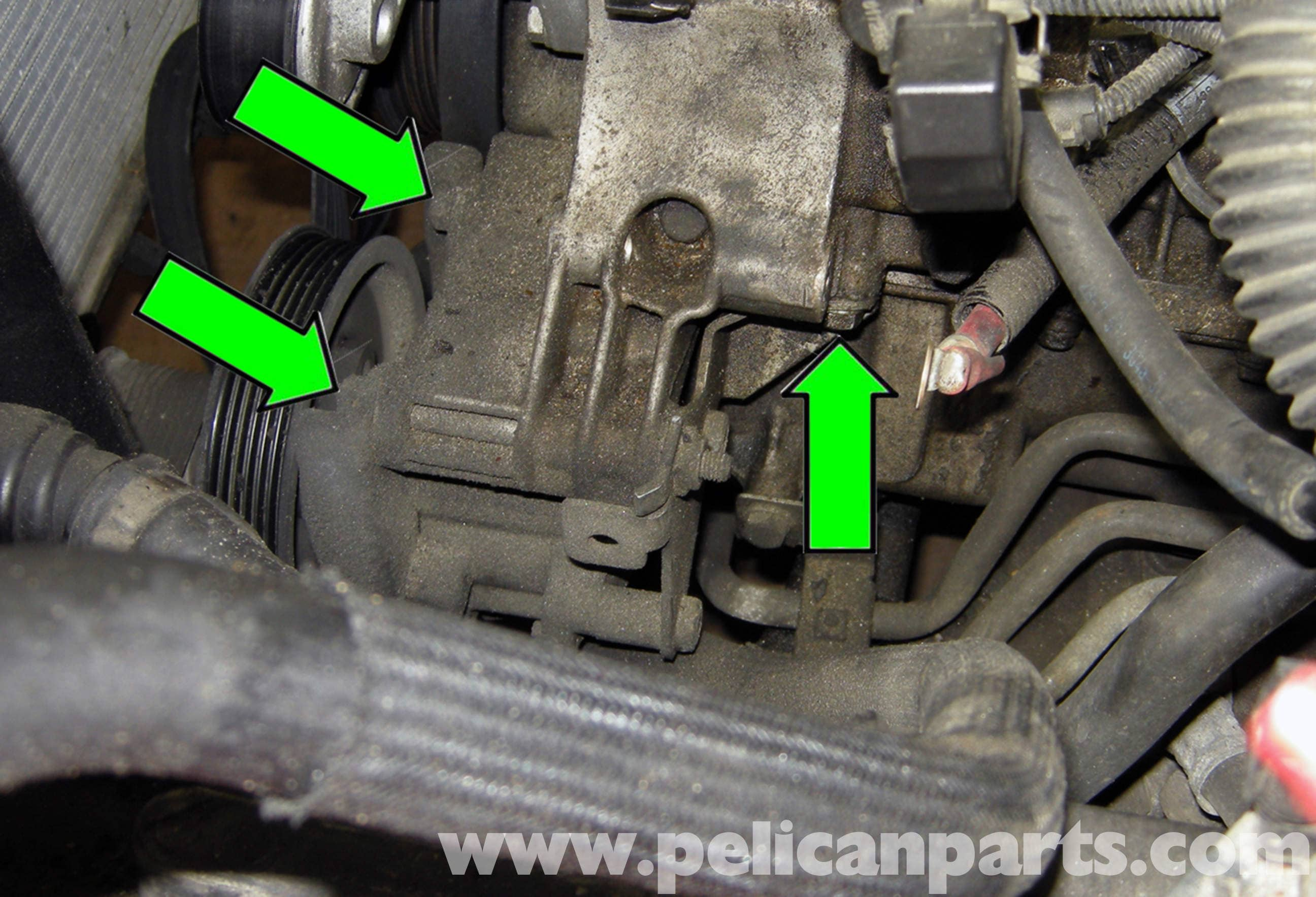 BMW E60 5-Series Power Steering Pump Replacement (2003-2010
