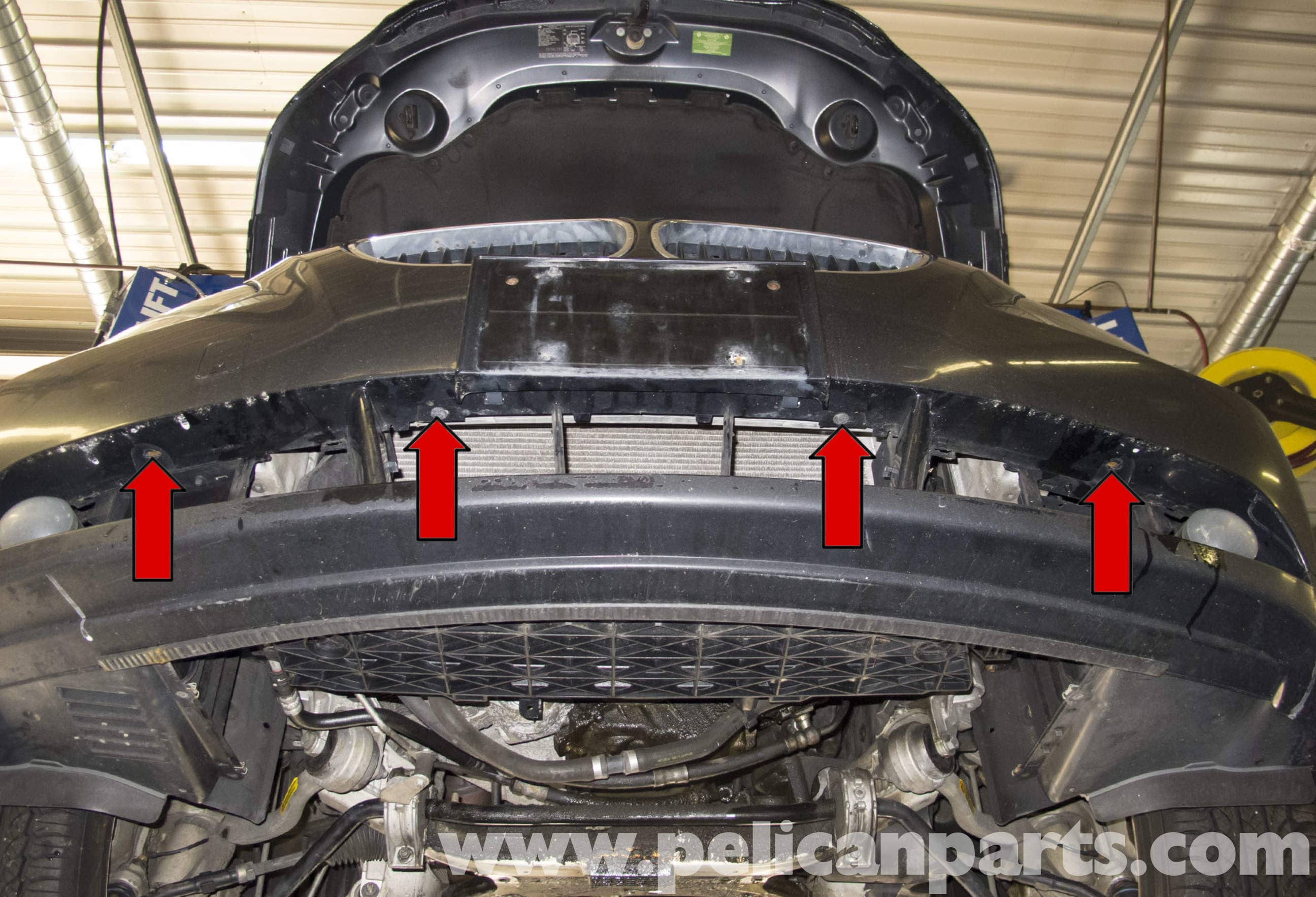 Bmw E60 5 Series Front Bumper Replacement Pelican Parts Technical Article