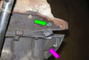 Next, you are going to remove the dust plug from the crankcase.