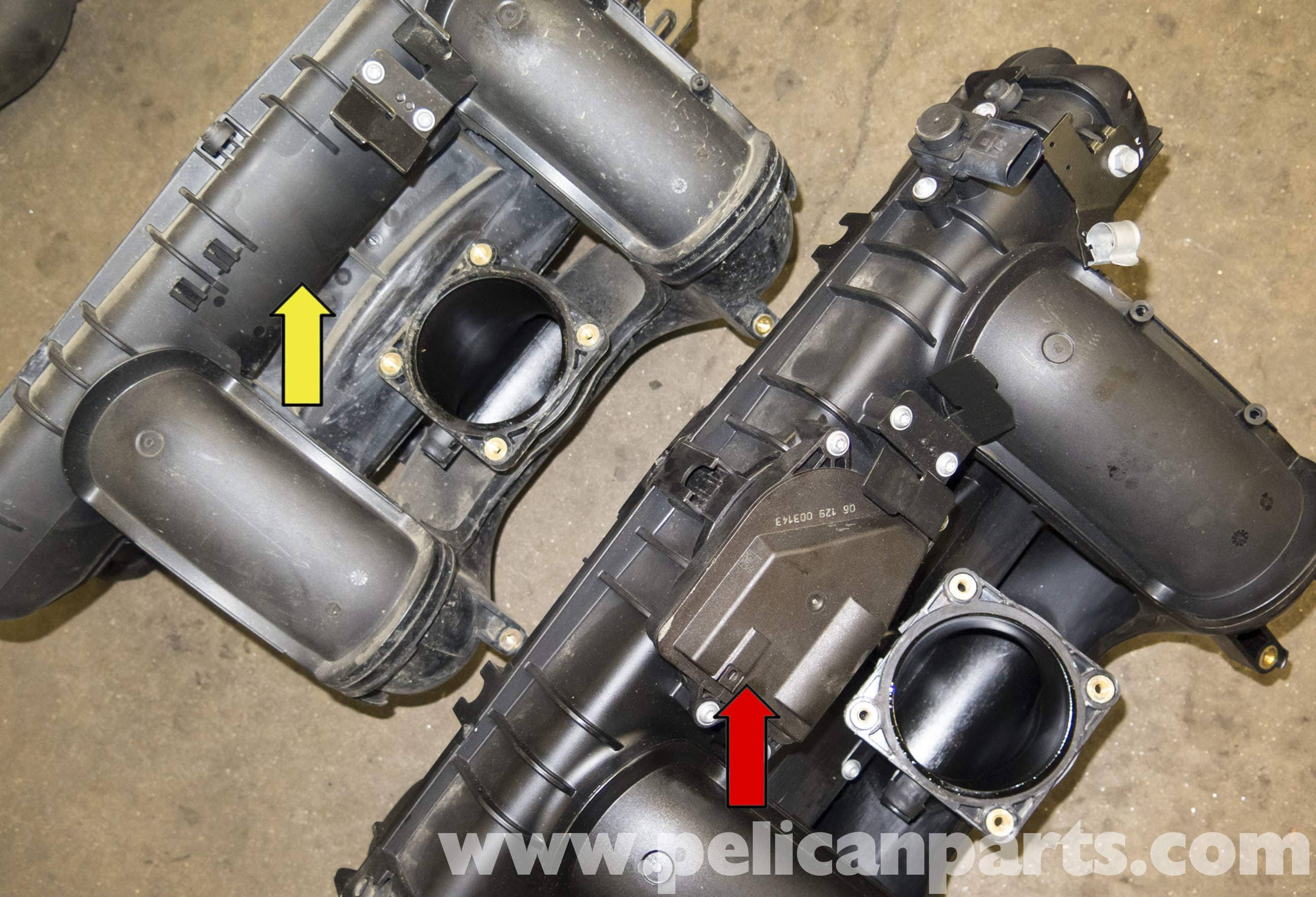 Bmw E60 5 Series N52 Engine Intake Manifold Upgrade