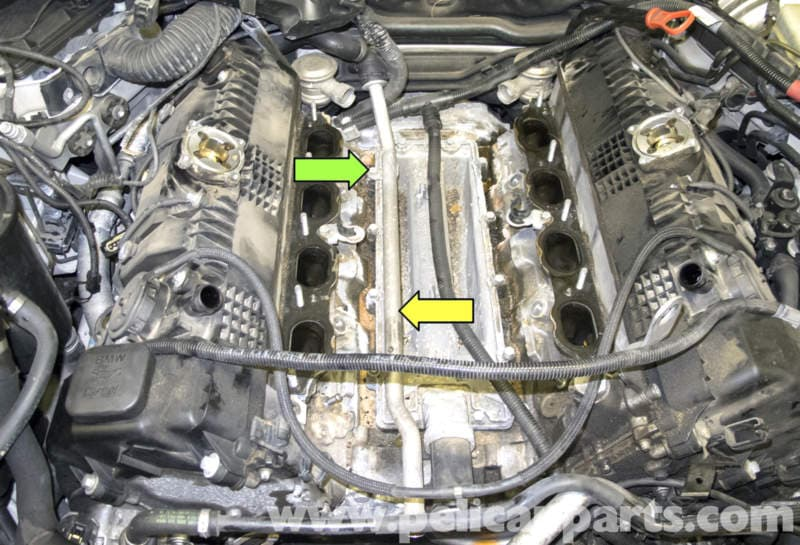 Bmw E60 5 Series N62 8 Cylinder Coolant Pipe Replacement