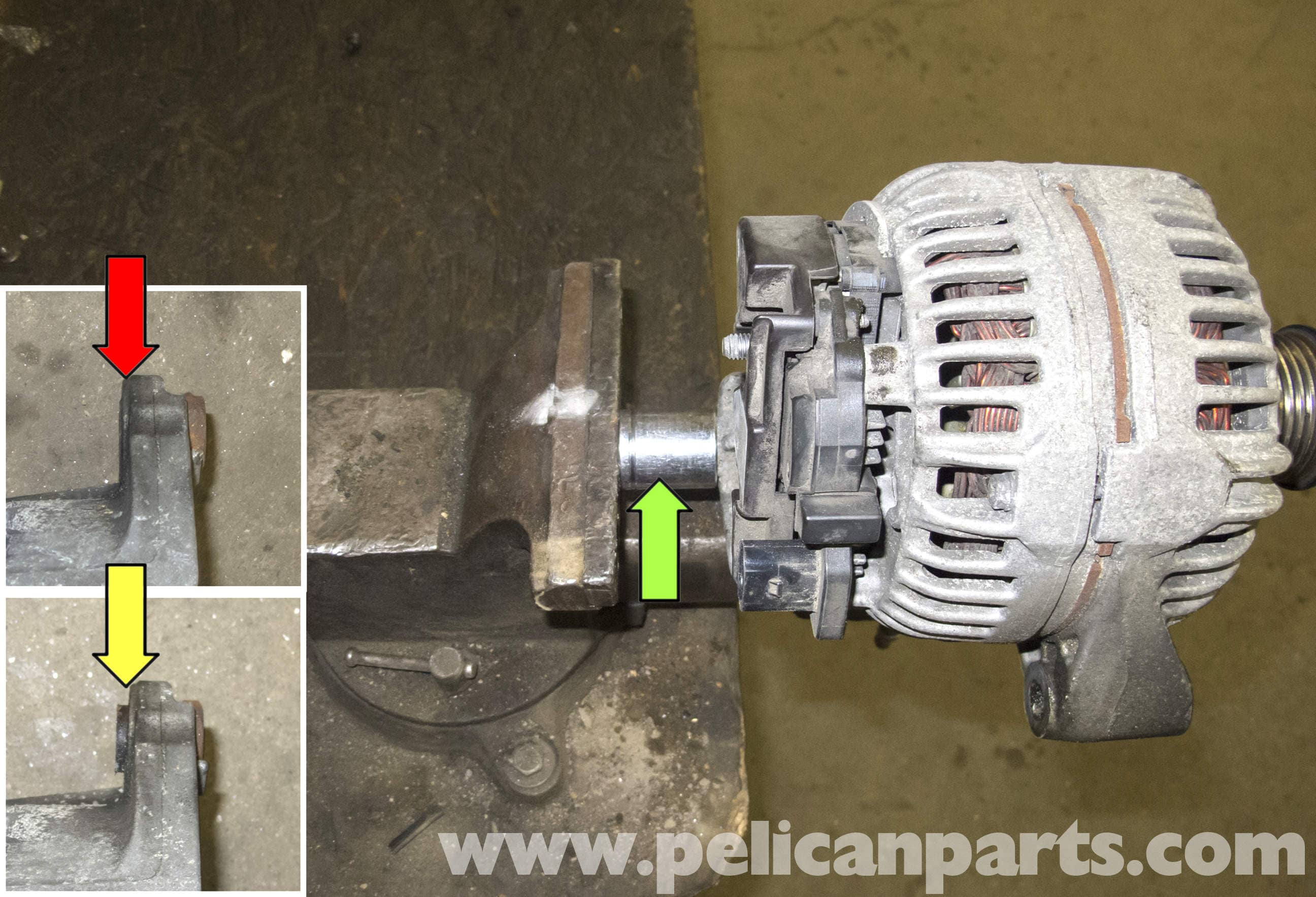 BMW E60 5-Series Alternator Replacement (M54 6 Cylinder) - Pelican Parts  Technical ArticlePelican Parts