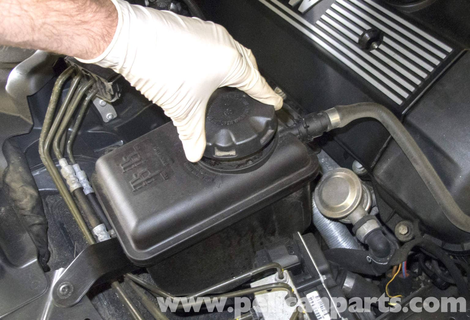 Bmw E60 5 Series Draining And Filling The Cooling System